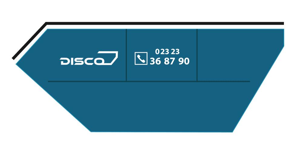 Disco Container 7cbm
